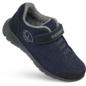Giesswein Merino Wool Runners Kinderen, dark blue